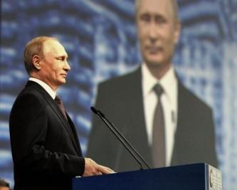 Украинский телеканал назвал Путина главным мировым лидером