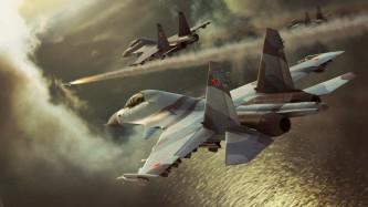 Опубликовано впечатляющее видео ударов ВКС РФ по террористам в Идлибе