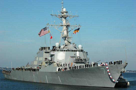 Вашингтон объяснил присутствие двух эсминцев ВМФ США в Черном море