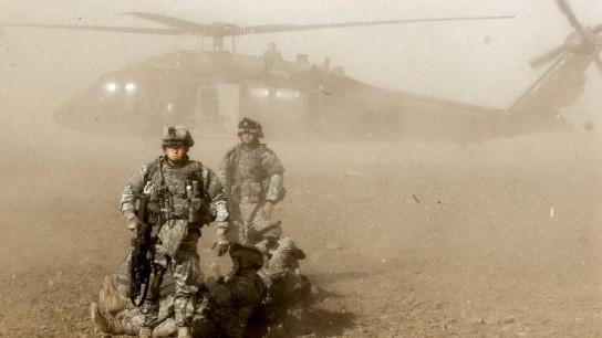 В Афганистане замечены неопознанные вертолеты в местах базирования боевиков