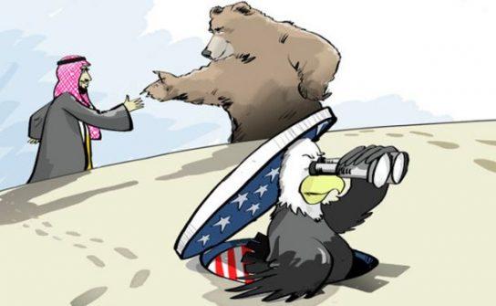 Россия заменила США в списке лучших друзей Ближнего Востока
