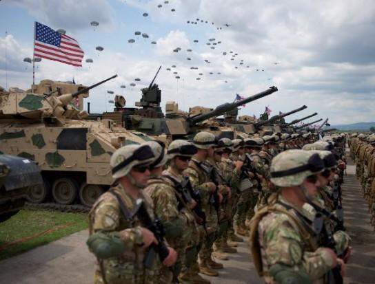 США перебрасывают в Юго-Восточную Азию тысячи морских пехотинцев