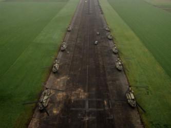 Пентагон перебрасывает к российским границам 89 вертолетов и 700 единиц боевой техники