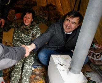 Украинским силовикам не удалось похитить Саакашвили