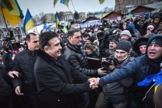 Саакашвили не удалось расшевелить Майдан