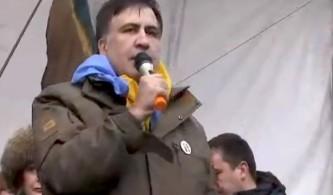 Саакашвили снова пошел в атаку на Порошенко