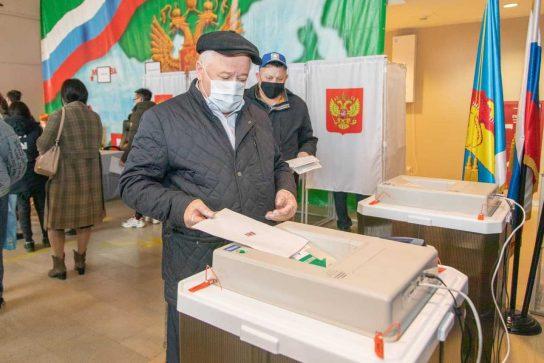 41,03% избирателей Анадыря проголосовали на выборах депутатов Госдумы