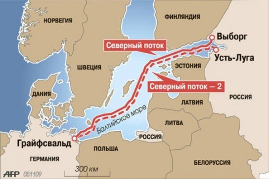 На Украине объяснили стремление США помешать строительству «Северного потока-2»