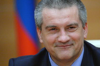 Аксенов напомнил Порошенко о неспособности Украины построить мост даже через Днепр
