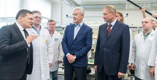 Мэр Москвы обсудил развитие атомной промышленности с руководителями предприятий отрасли