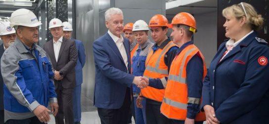 Собянин провел технический пуск метро от станции «Раменки» до станции «Рассказовка»