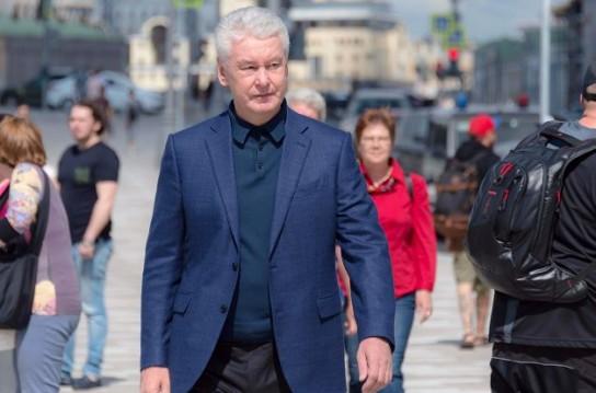 Москвичи поставили Сергею Собянину оценку «отлично»