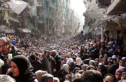 Курды устраивают в сирийской Ракке гуманитарную катастрофу