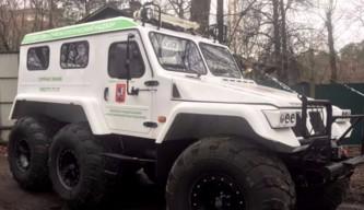 Снегоболотоходы начнут патрулировать лесопарки Москвы