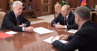 Собянин представил Путин проект нового наземного метро в Москве