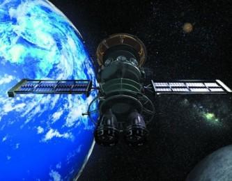 На Землю падает большой спутник советских времен