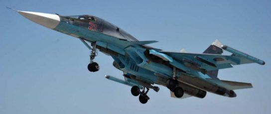 Западные СМИ назвали российский истребитель-бомбардировщик Су-34 лучшим в мире