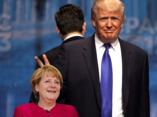 Меркель вызвали «на ковер» к Трампу