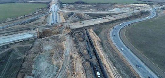 Строящуюся трассу «Таврида» назвали «дорогой жизни» Крыма