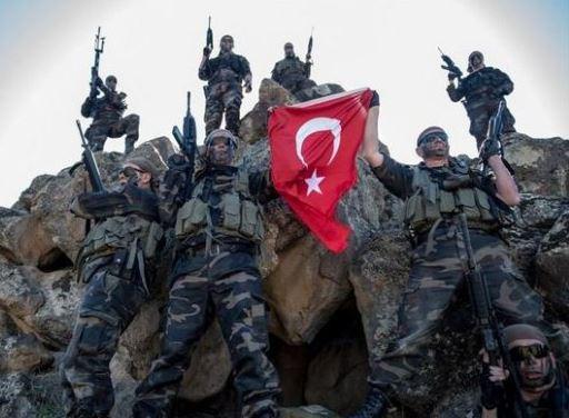Войска Турции освободили от курдов Африн