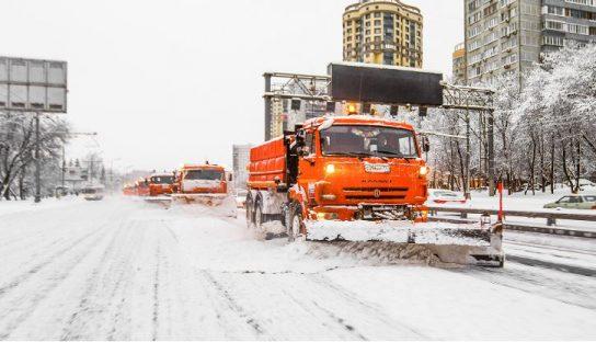 Мэр Москвы поручил усилить работу по уборке снега в столице