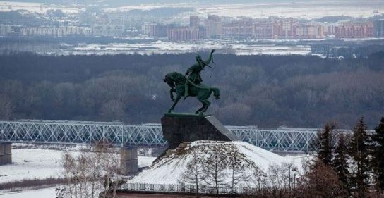 Владимир Путин прибыл в столицу Башкирии