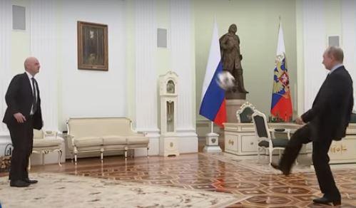 Кадыров: Жаль, что Путин не играет за сборную России по футболу