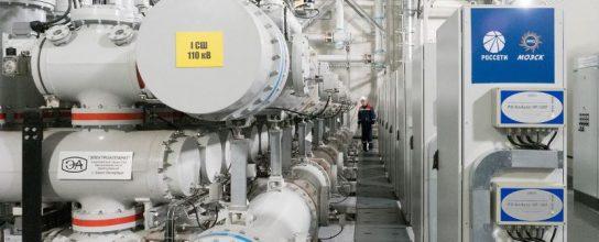 Собянин рассказал о первой цифровой электроподстанции построенной в «Сколкове»