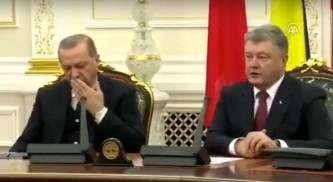 Голос Порошенко «усыпил» Эрдогана