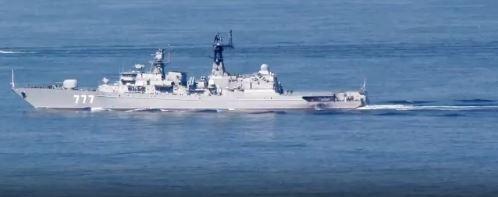 Российский фрегат затерроризировал флот НАТО в Средиземном море