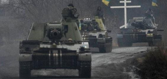 Украинские каратели в Донбассе подорвались на собственных минах