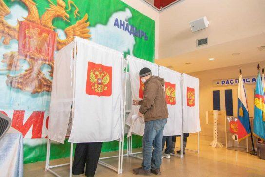 Более 46% избирателей проголосовали в окружной столице