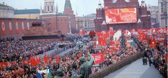Россия празднует Первомай