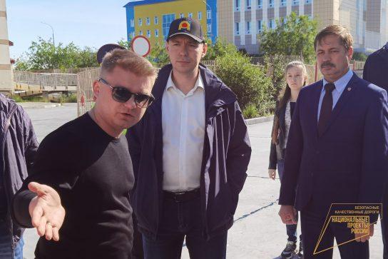 Завершен ремонт участков дорог по улицам Мира-Партизанская