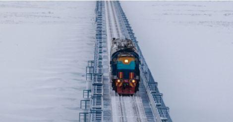 В Якутии весной запустят новый участок железной дороги