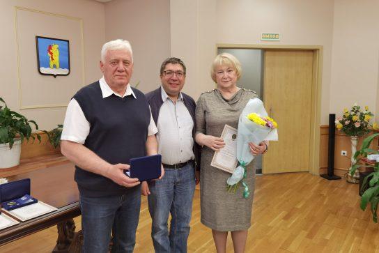 Семьям Анадыря вручили медали «За любовь и верность»