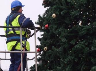 В Москве установят 268 новогодних елок