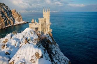 Украинцы массово отметили Новый год в российском Крыму