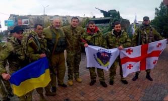 В зону АТО в Донбассе прибыла новая группа грузинских наемников