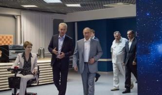 Собянин рассказал Путину о предстоящем сотрудничестве Москвы с «Сириусом»