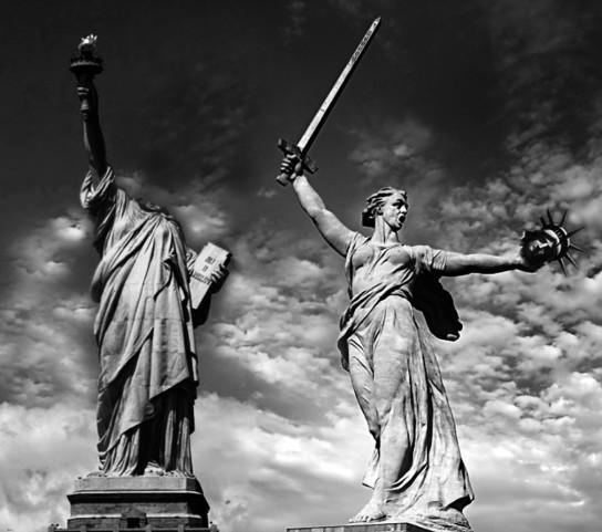 Россию назвали единственной страной способной дать отпор обнаглевшему Западу