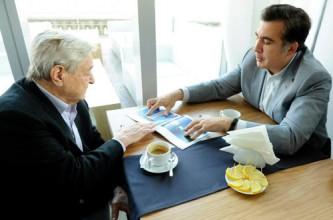 За вторжением Саакашвили на Украину стоит Сорос