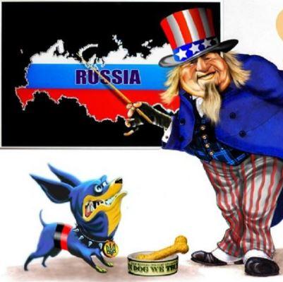 В России сравнили Порошенко с «Моськой», лающей на слона