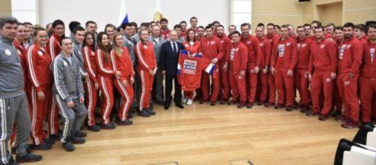 Путин встретится с российскими олимпийцами в Кремле 28 февраля