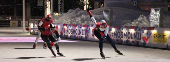 «Московские молнии»: на главном катке страны прошел фестиваль конькобежного спорта