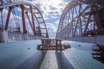 Украина приказала немедленно остановить строительство Керченского моста