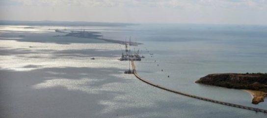 Строительство Крымского моста вышло на финишную прямую