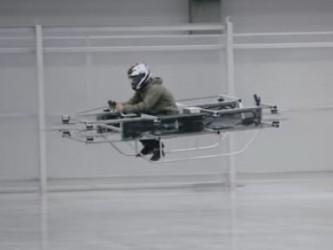 Концерн «Калашников» разработал военный «летающий мотоцикл»