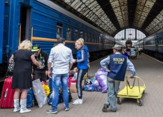 Украинцы находятся в «чемоданном настроении»
