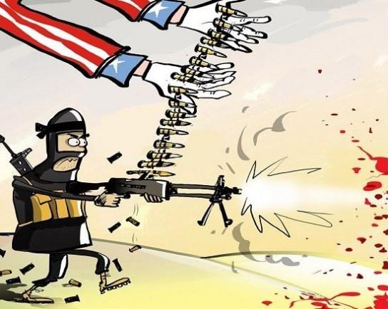 Дамаск представил новые факты снабжения террористов оружием американской коалиции